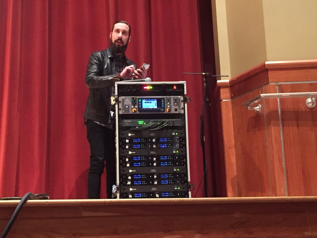 Pentatonix's Avi Kaplan draws young musicians to UT